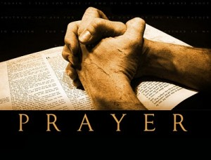 Believe in the power of prayer